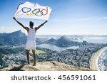 rio de janeiro   march 21  2016 ...   Shutterstock . vector #456591061