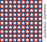 usa pattern background  star | Shutterstock .eps vector #456595354