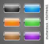 set of rectangular colored web...   Shutterstock .eps vector #456596461