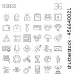 business icons. start up and... | Shutterstock .eps vector #456640021