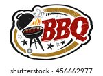 bbq grill vector icon   Shutterstock .eps vector #456662977