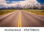 a wide shot looking out to the... | Shutterstock . vector #456708631