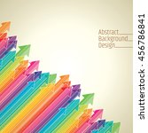 business colored arrows vector | Shutterstock .eps vector #456786841