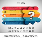 vector illustration of business ... | Shutterstock .eps vector #456792721