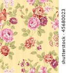 paisley seamless background...   Shutterstock . vector #45680023