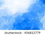 blue chromium liquid background ... | Shutterstock . vector #456812779