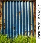 rusty steel sheet background | Shutterstock . vector #456864019