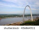 Gateway Arch In Saint Louis...