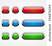 set of colored web buttons ... | Shutterstock .eps vector #456876244