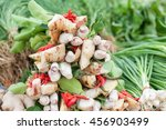 thai herbs vegetable | Shutterstock . vector #456903499