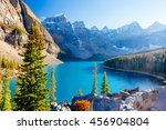 Moraine Lake Is A Glacially Fe...