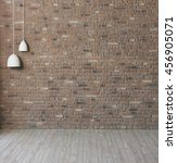 Modern Wall And White Lamp