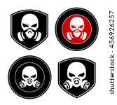 Skull In A Respirator  Chemical ...