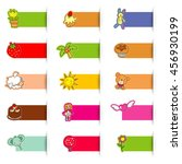 cute icon sticker  web source...   Shutterstock .eps vector #456930199