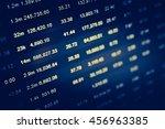 data analyzing in forex market... | Shutterstock . vector #456963385