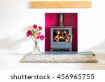 Wood Burning Stove  With...