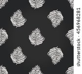 vintage seamless pattern with... | Shutterstock .eps vector #456968281