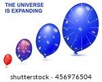 balloons demonstrates the...   Shutterstock .eps vector #456976504