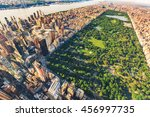 Aerial View Of Manhattan New...