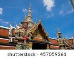 giant  bangkok  thailand   ... | Shutterstock . vector #457059361