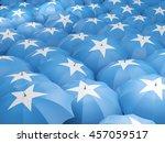 flag of somalia on umbrella. 3d ...   Shutterstock . vector #457059517