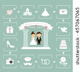 wedding | Shutterstock .eps vector #457067065