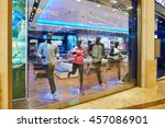 macao  china   february 16 ... | Shutterstock . vector #457086901