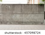 urban background. empty street... | Shutterstock . vector #457098724
