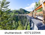 Originally one of 19 wooden railway trestles built in the early 1900s in Myra Canyon, BC, the place is now a public park with biking and hiking trails.