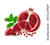 half  seed and segment... | Shutterstock .eps vector #457114969