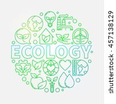 ecology green colorful