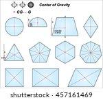 center of gravity | Shutterstock .eps vector #457161469