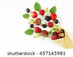 Various Fresh Organic Berries...