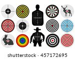 targets for shooting | Shutterstock .eps vector #457172695