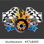 racing sign | Shutterstock .eps vector #45718405