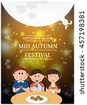 mid autumn festival | Shutterstock .eps vector #457198381