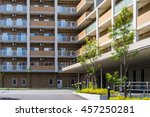 apartment building in asia | Shutterstock . vector #457250281