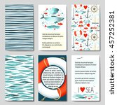 Set Of 6 Lovely Cards Template...