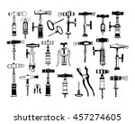 big set of different types of... | Shutterstock .eps vector #457274605