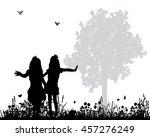vector  isolated silhouette ...   Shutterstock .eps vector #457276249