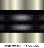 background elegant metallic  3d ... | Shutterstock .eps vector #457280221