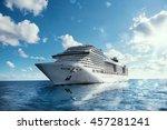 cruise voyage   Shutterstock . vector #457281241