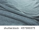 grey fabric cloth texture | Shutterstock . vector #457300375