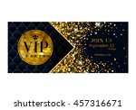 vip party premium invitation... | Shutterstock .eps vector #457316671