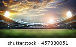 stadium in lights 3d. | Shutterstock . vector #457330051