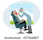 vector illustration of a... | Shutterstock .eps vector #457366807