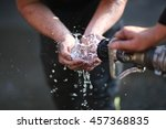 Handwashing With A Stream Of...