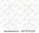 geometric seamless pattern.... | Shutterstock .eps vector #457375129