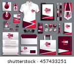 vector illustration of a set of ... | Shutterstock .eps vector #457433251