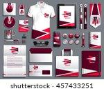vector illustration of a set of ... | Shutterstock .eps vector #457433251